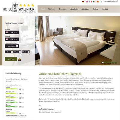 Hotel spalentor 2012-02