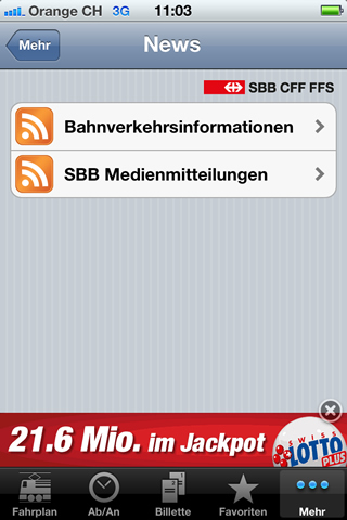 Online Werbemittel - Mobile Apps